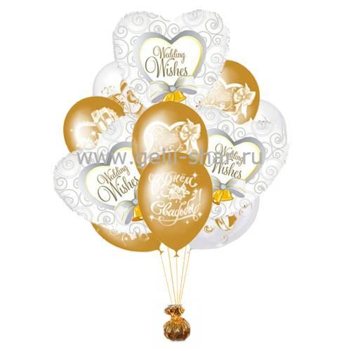 Дню победы, составление свадебный букет шаров